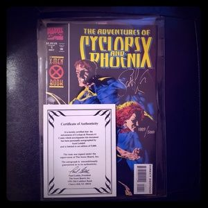 MINT AND SIGNED Cyclops and Phoenix Comic